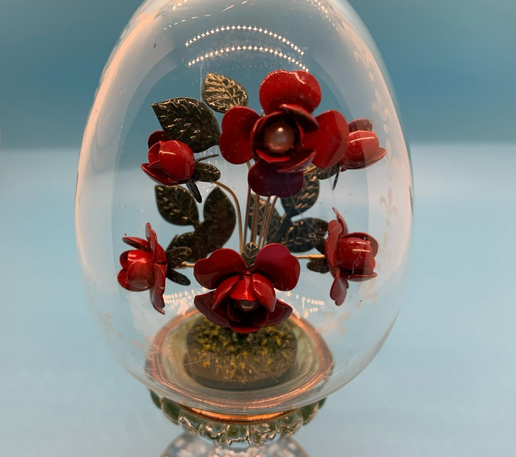 Vintage House of Faberge Roses