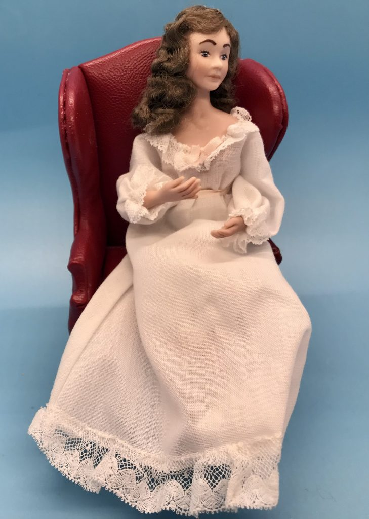 Front View of mother doll's clothes
