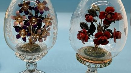 Vintage House of Faberge Flowers