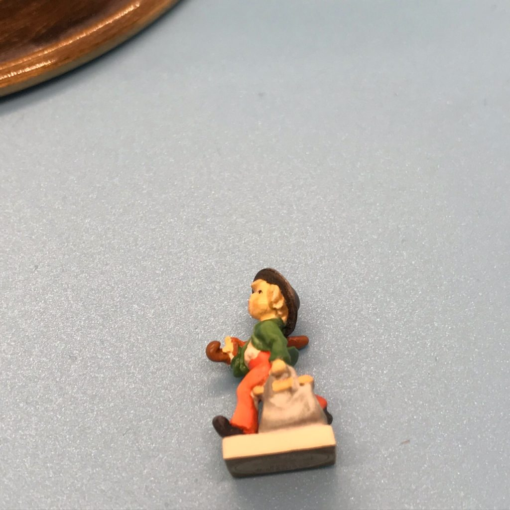 The Merry Wanderer in miniature
