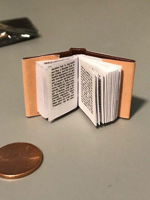 inside little women mini book