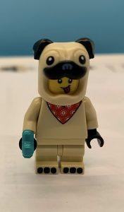 Lego dog costume minifig