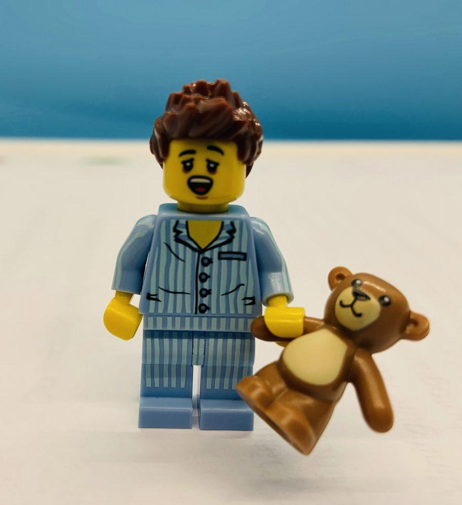 Lego Sleepyhead minifigure