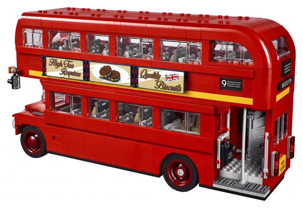 Lego London Bus Back view