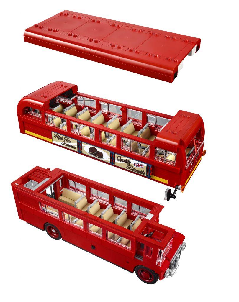 Lego London Bus levels