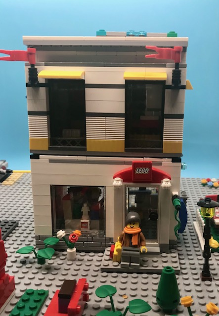 Hacked Lego store