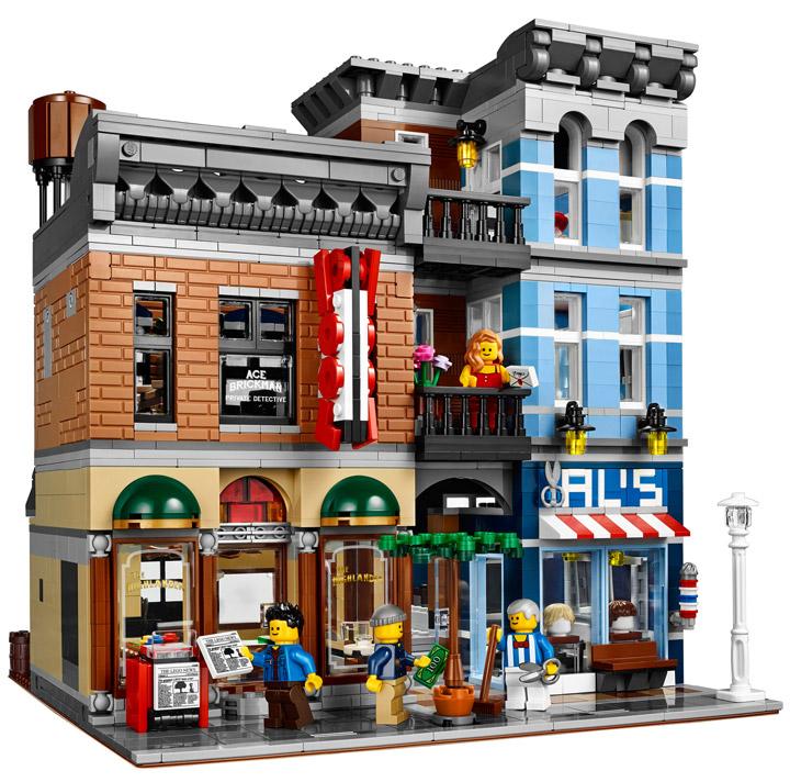 Lego Detective's Office building