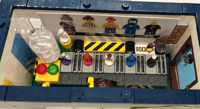 closer look at minifigs at the factory