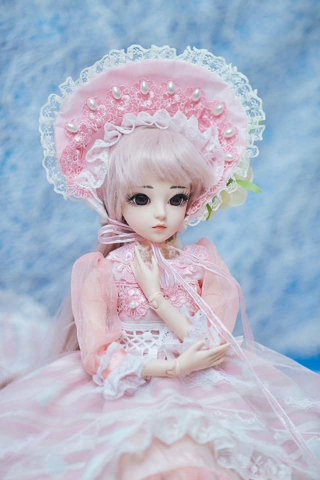Pretty doll in pink