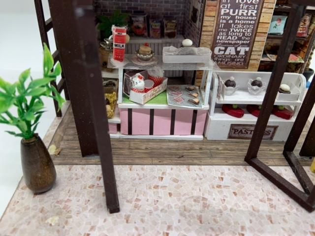 Lower floor of Time of Coffee kit
