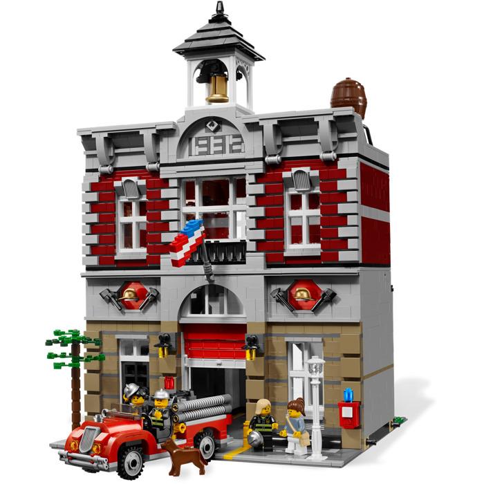 Lego Fire Brigade building