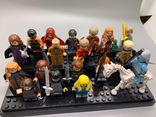Customized Game of Thrones minifigs