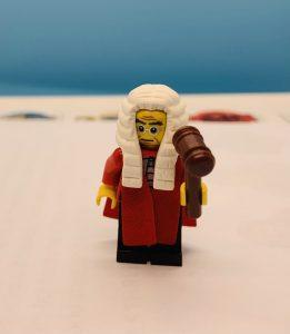 Lego Minifigure Judge