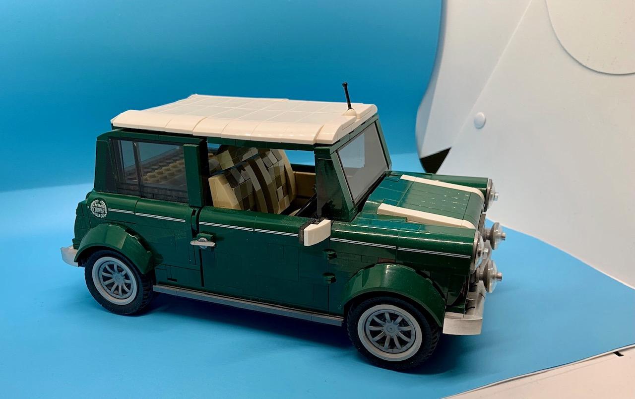 Lego Mini Cooper side view