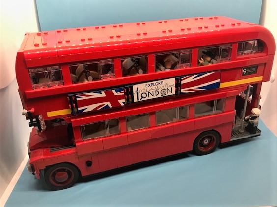 Lego London bus my build