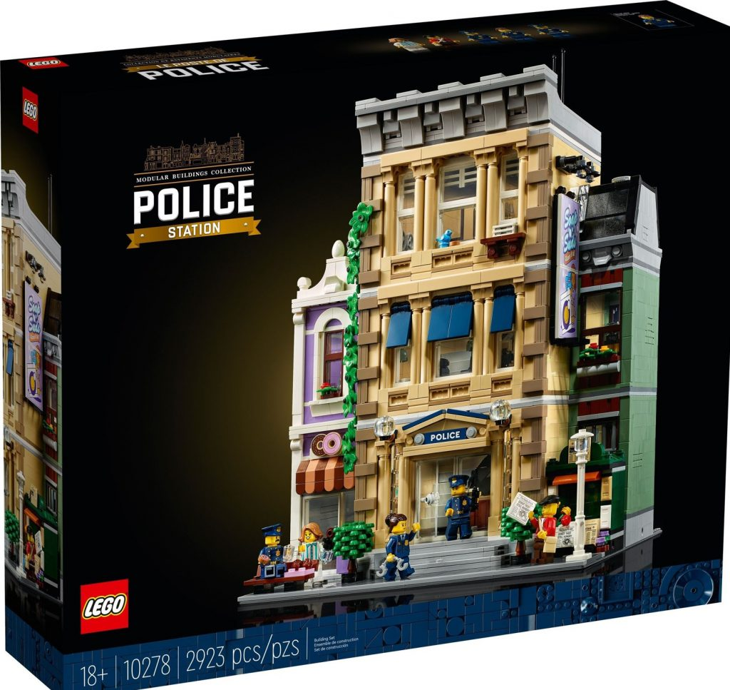 Lego Creator Expert Police Station