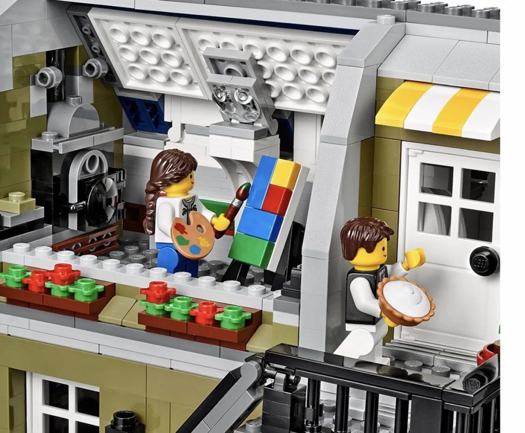 upstairs of Lego Parisian Restaurant