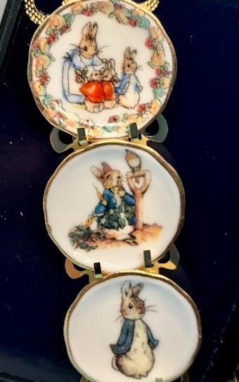 Reutter Porzellan Beatrix Potter plate set